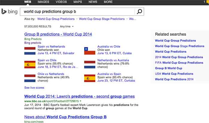 BingWorldCupPredictions