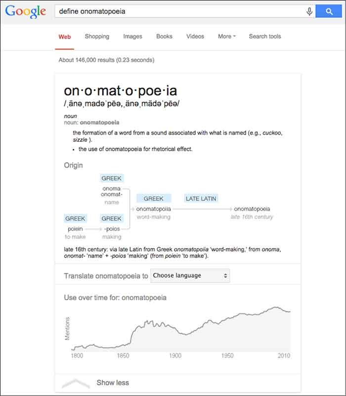 Definition Google Answer Box Image - Search Influence