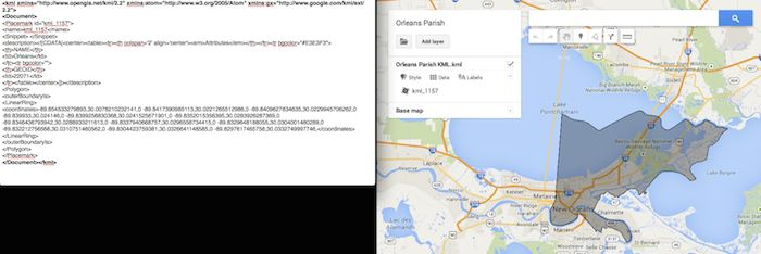 Preparing Viewing A KML File In Google My Maps - Search Influence