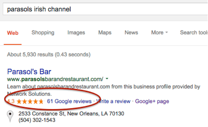 Online Reviews Branded Search Image - Search Influence