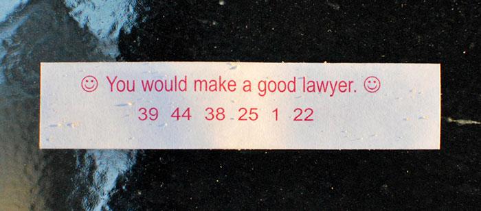 LawyerFortunCookie