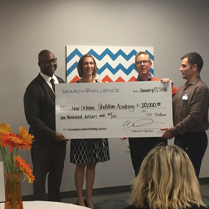 Search Influence Awards $10K
