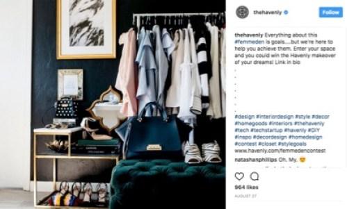 TheHavenly Instagram post screenshot