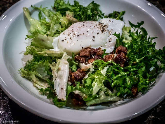 Salade Lyonnaise from Mark Bittman of the New York Times