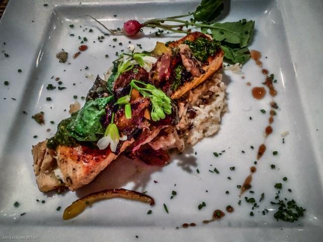 Salmon at La Querencia