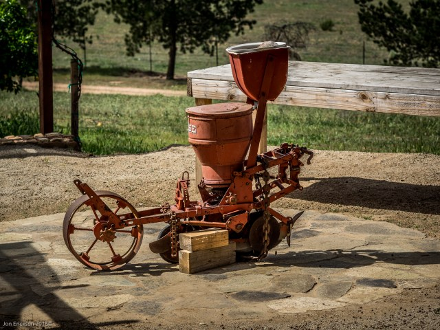 Old Farm Equipment at Casa Mayoral