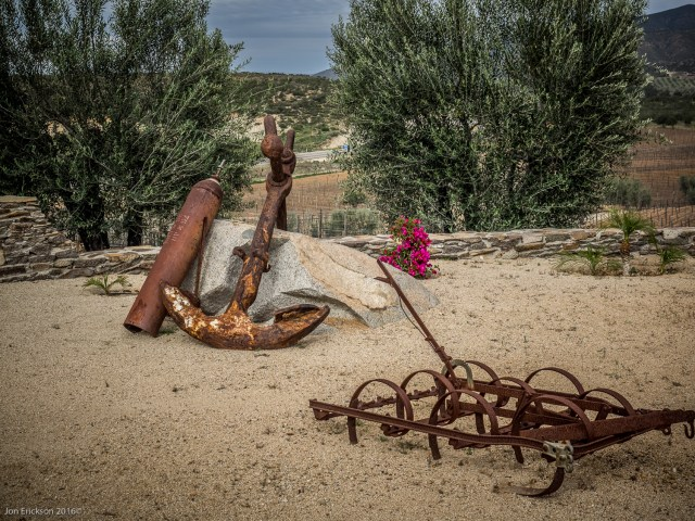 Some old Farm Implements at Viñas de Garza