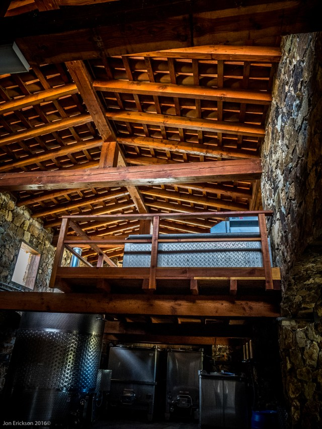 Inside the storage area of El Mogor