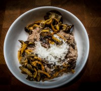 Wild Mushroom Risotto from Cafe de Jardin