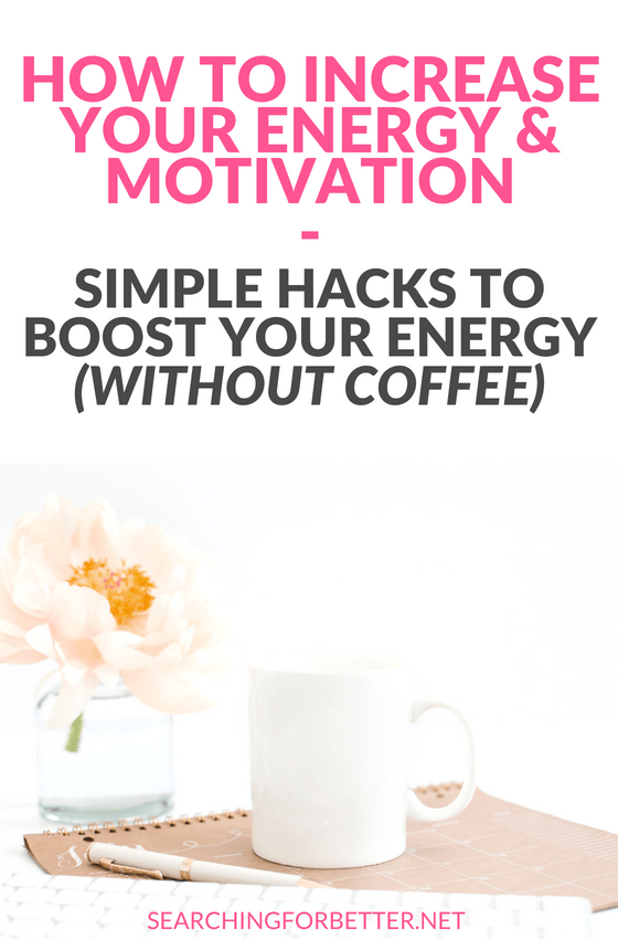 As a #bossbabe or #momboss low #energy levels is an every day health challenge. These are simple tips to help moms and busy women increase their energy and #motivation naturally without vitamins or a change in diet (win!) and they only take 5 minutes. #wellness #mindset #healthy #healthylifestyle #life