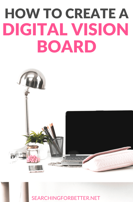 How To Create A Digital Vision Board. Great examples & #ideas on how to make a vision board online! So much #inspiration here on how you can use the law of attraction with your dream board to create the life you want! #dreams #mind #girlboss #ladyboss #momboss #motivation