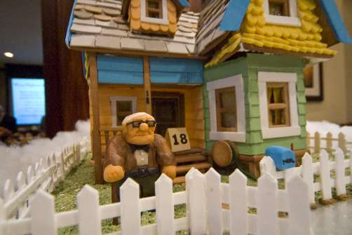 Gingerbread House From The Pixar Movie Up