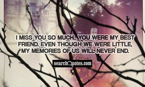 Bildresultat fr i miss you so much you were my best friend