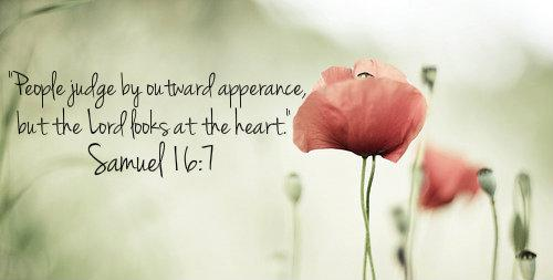 Image result for samuel 16:7