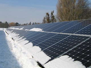 Canadian Gerographic: Solar Panels for All Seasons
