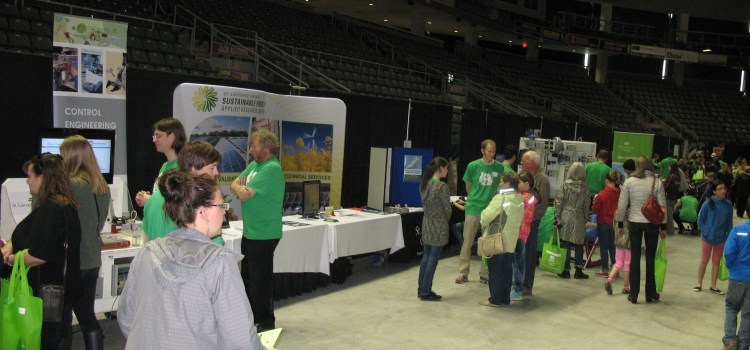 SEARC, ESET and CET Exhibit at Science Rendezvous 2014