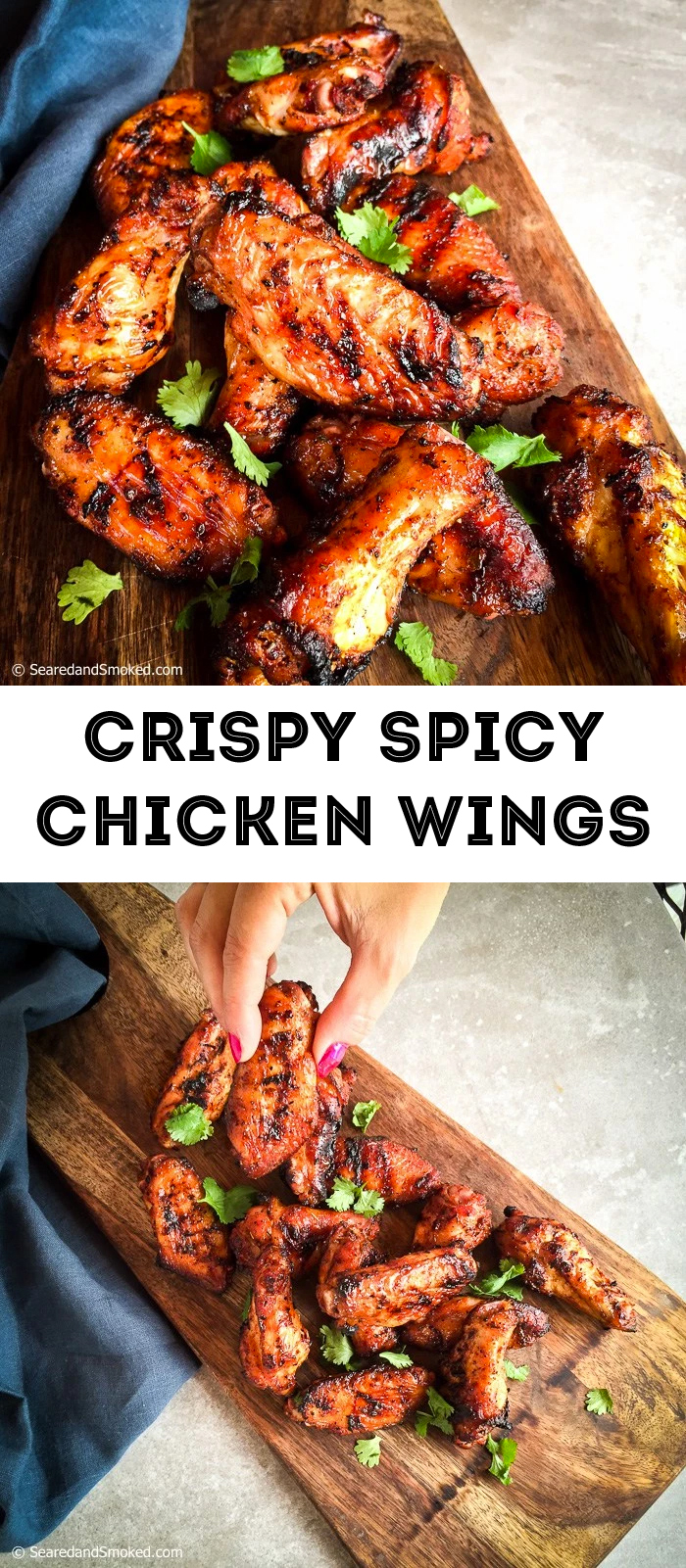 Crispy Spicy Chicken Wing Recipe