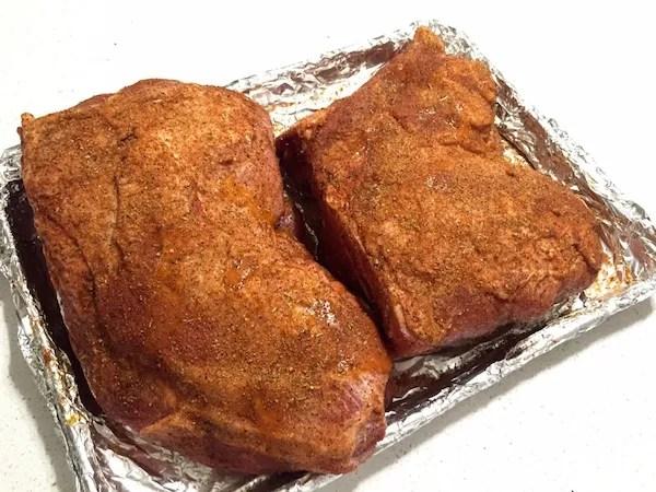 seasoned pork butt