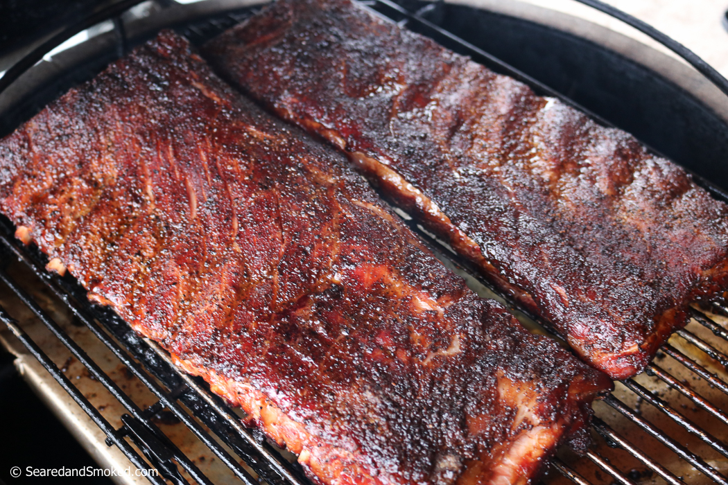 smoked pork ribs hot and fast