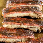 cajun honey glazed st louis pork ribs