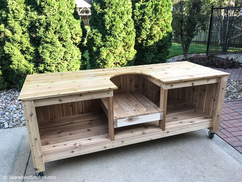 Awesome Big Green Egg Table Height Wallseat Co Download Free Architecture Designs Rallybritishbridgeorg