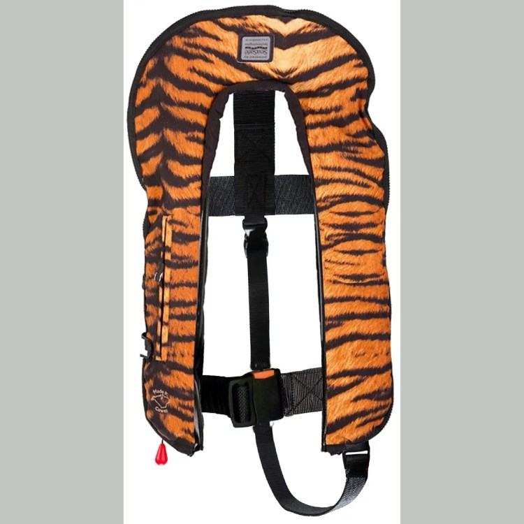 SeaSafe Systems I-Zip 170N Life Jacket - Tiger