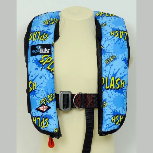 SeaSafe Systems Junior Automatic LifeJacket - Splash