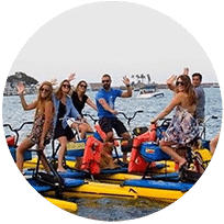 Hydrobike with Sea Serpent Tours!