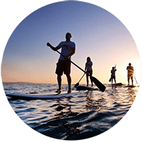 Paddleboard with Sea Serpent Tours!