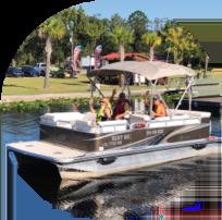 21 ft pontoon boat