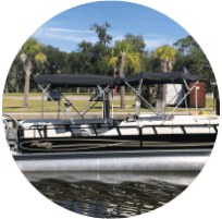 24 foot pontoon