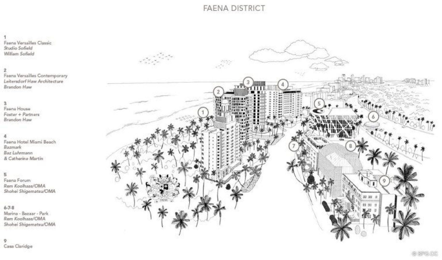 Faena Versailles Classic Luxury Oceanfront Condos In