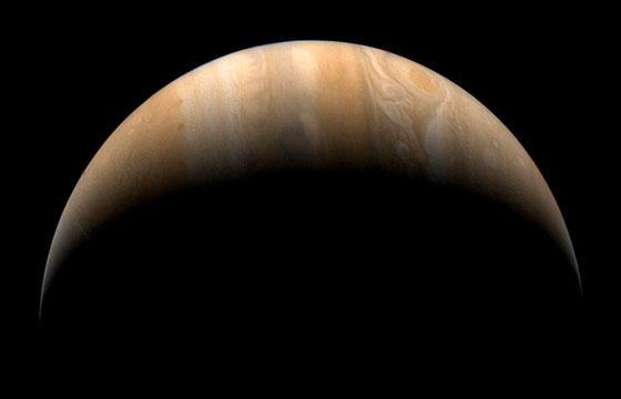Voyager Spacecraft Image of Jupiter