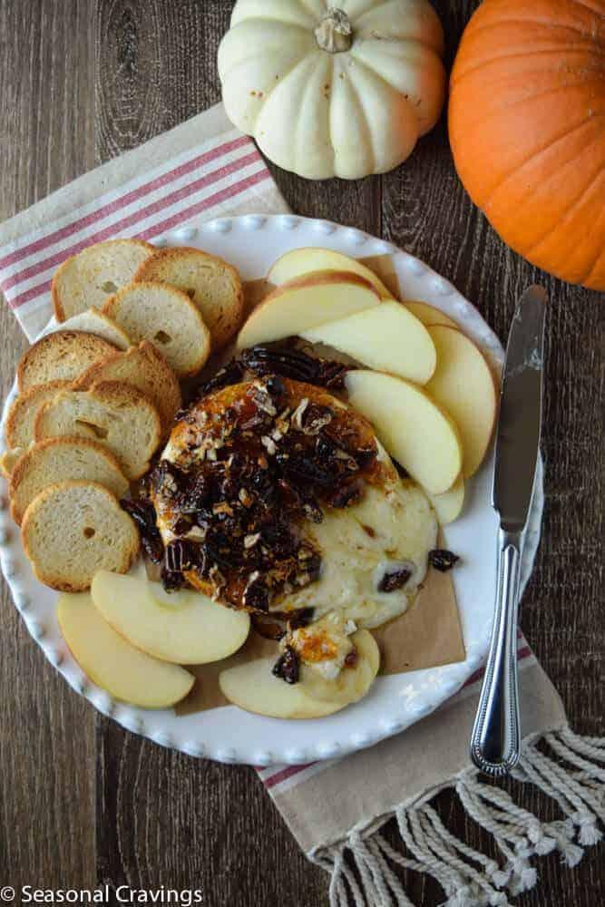 Baked Brie With Fig Jam Seasonal Cravings