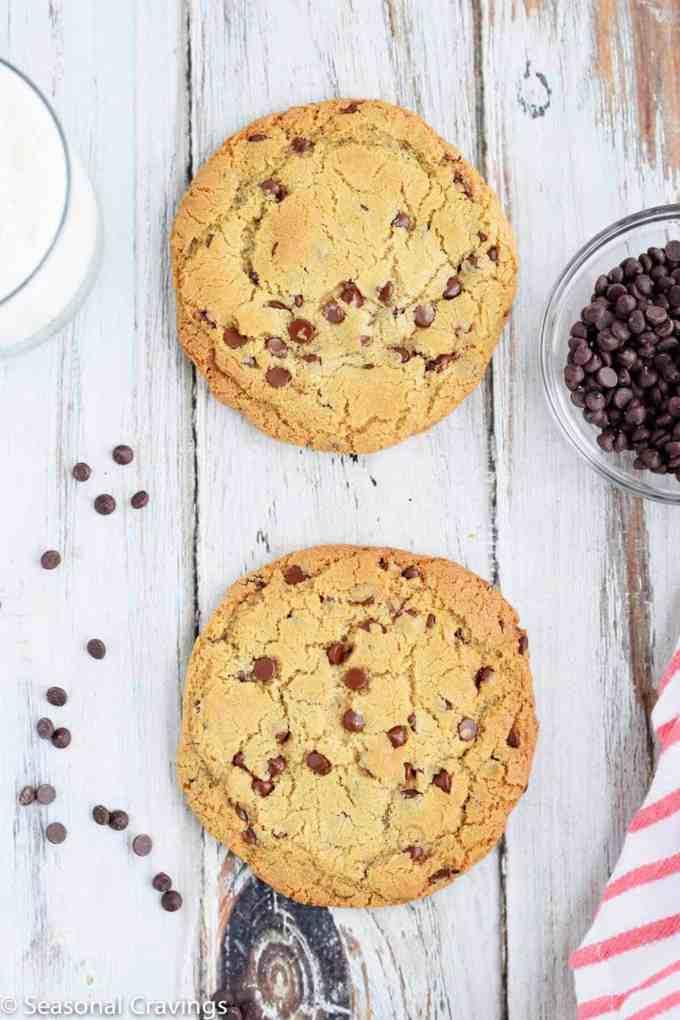 Gluten Free Single Serve Chocolate Chip Cookie