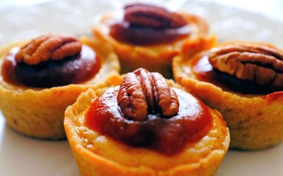 Pumpkin Butter Cheesecake Tarts