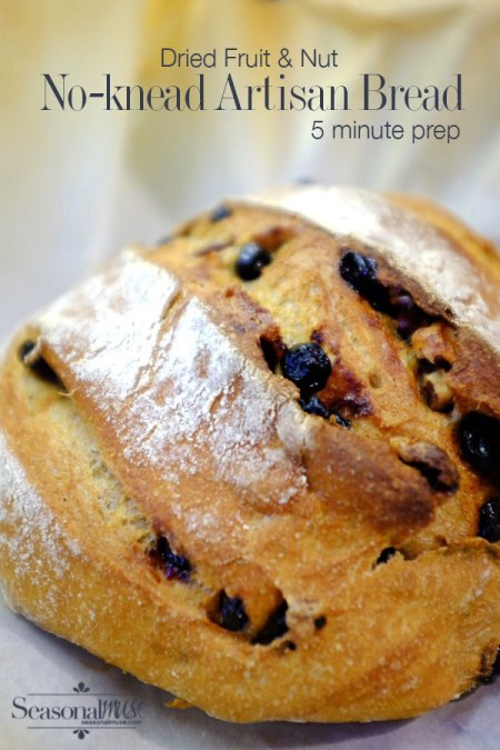 No-Knead Bread – 5 Minute Recipe