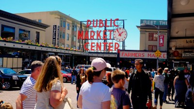 A must visit destination: Historic Pike Place Market - Seattle