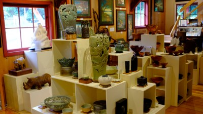 Local artisan showcase at Orcas Island Artworks & Gallery