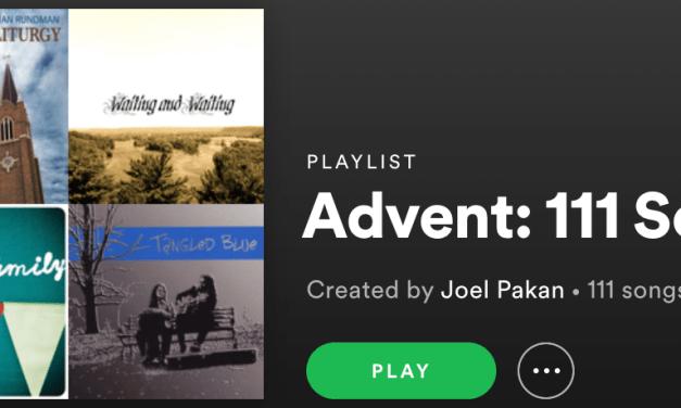 Advent Playlists 2019