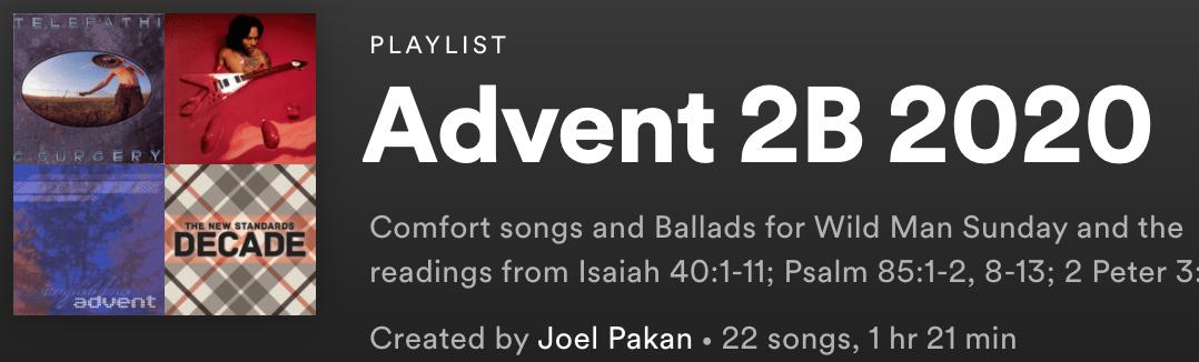 Advent 2B 2020