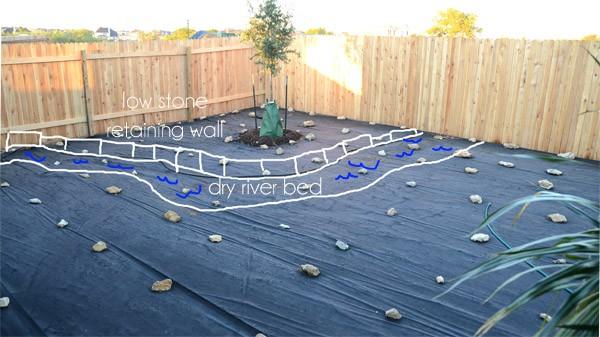Small Backyard Landscape - The Seasoned Homemaker on Patio On A Slope Ideas id=50582