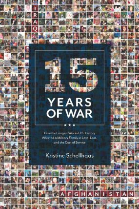15 Years of War book review, interview with author Kristine Schellhaas