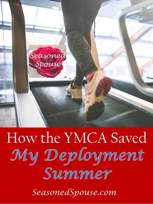 Great reasons to join the YMCA during a military deployment.