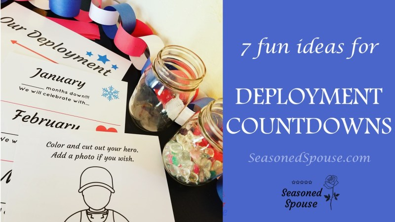 For a milso or milspouse going through deployment, these are the perfect deployment countdowns!