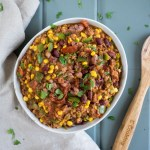 Vegetarian Chili with Anasazi Beans   This vegetarian chili made with Anasazi beans is easy and fast! Make ahead or make a double batch for a hearty dinner to serve with your favorite toppings.   SeasonedVegetable.com