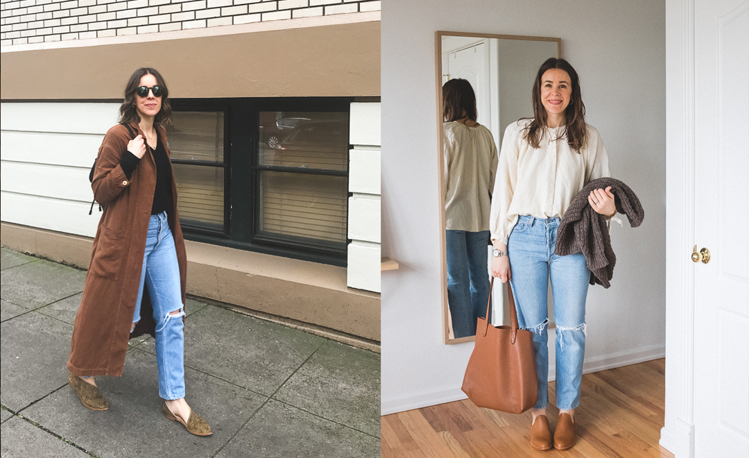 What I Wore: New Shoes + A Big Haircut