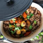 Marsala Braised Pork With Carrots And Potatoes Seasons And Suppers