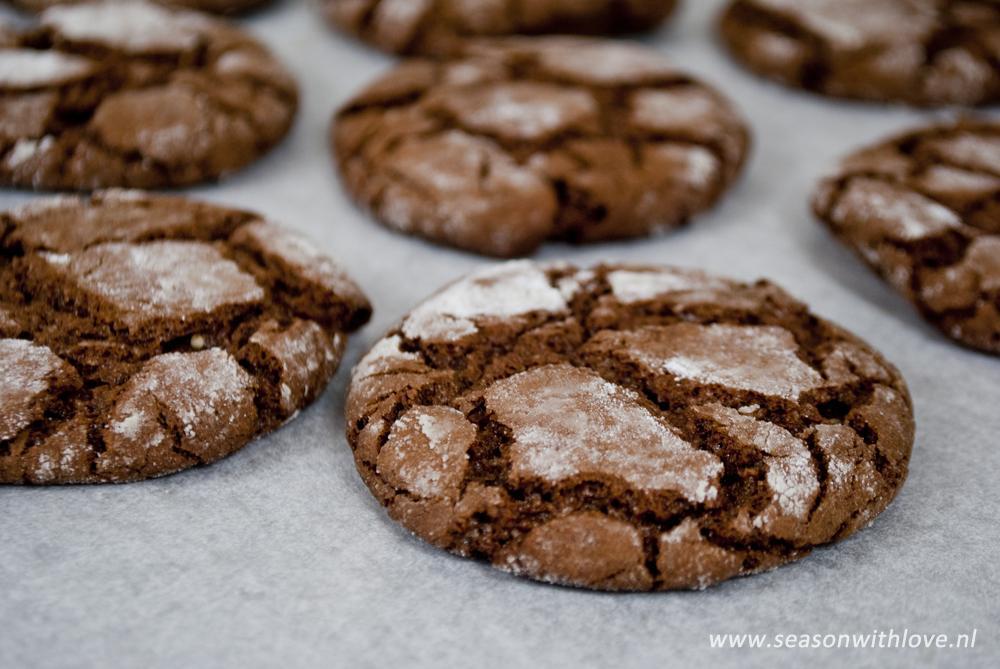 zelf chocolade koekjes bakken