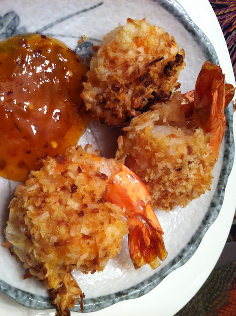 Baked Coconut Shrimp (A Seat at the Table)